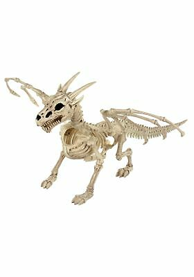 "24"" Skeleton Dragon Prop Halloween Decoration"