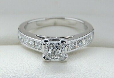 $7K GIA Certified Diamond & 18 Carat Gold Engagement Ring – 1 FULL Carat!
