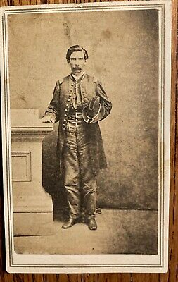 John Baugh Musician 40th Illinois Infantry Civil War CDV And 18th Illinois Inf.