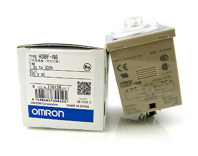 New In Box Omron Timer H3BF-N8 220VAC