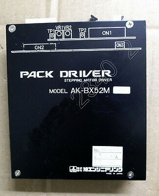 Used Pack Driver AK-BX52M Stepping Motor Driver Tested