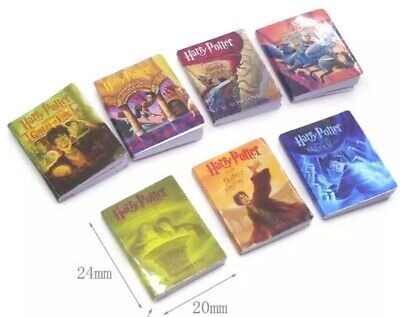 Add to Coles Little Shop Minis - Set of 7 HARRY POTTER Mini Books