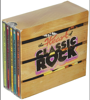 The Heart of Classic Rock Time-Life [CD, 10-Disc, Box Set] New & Free Shipping