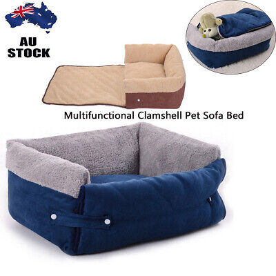 Pet Dog Cat Sofa Removable Couch Cushion Soft Mattress Sleeping Bed Washable M/L
