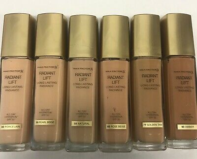 Maxfactor radiant lift 30 ml  please choose your shade
