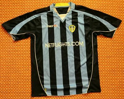 2008 - 2009 Leeds United, Away Football Shirt by Macron, XL - XXL