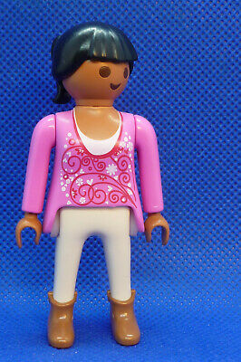 Playmobil SD-2 Woman Figure City Life Dollhouse School Farm