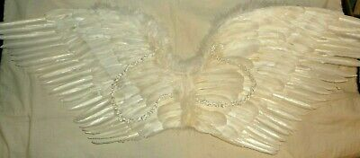 Halloween Costume Feather Angel Wings