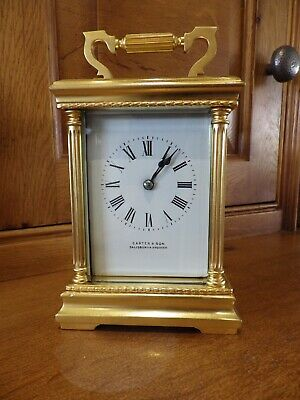 French Striking Carriage Clock In Beautiful Condition Simply Stunning Clock 1890