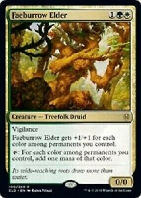 Magic: the Gathering MTG THRONE OF ELDRAINE FAEBURROW ELDER RARE