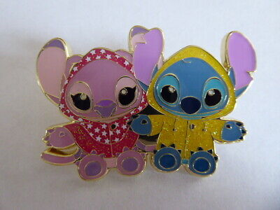 Disney Trading Pins  134767 SDR - April Showers - Angel and Stitch