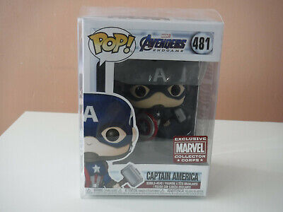 Pop! Marvel Avengers Endgame - Captain America Collector Corps Exclusive #481