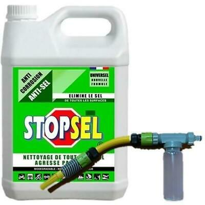 STOPSEL UNIVERSEL 5L + KIT Complet AUTOMIX 250ML - Anti sel corrosion