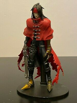 Play Arts Final Fantasy VII Advent Children Vincent Valentine Figure 2007 NISB