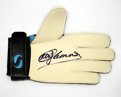 Ray Clemence Hand Signed Goalkeeper Glove