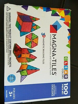 Magna tiles 100 piece set valtech