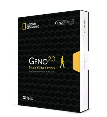 National Geographic Geno 2.0 Next Generation DNA Collection Kit - FREE Shipping