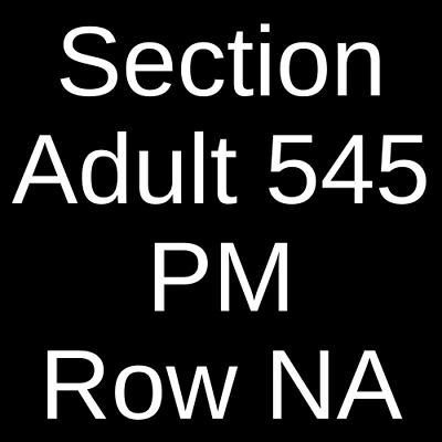 4 Tickets Alcatraz Night Tour (Multiple Dates and Times) 10/30/19