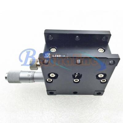 Z-Axis LZ60 Manual Linear Stages Bearing Trimming Platform Sliding Table 60*60mm