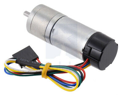 Pololu 75:1 Metal Gearmotor 25Dx69L mm MP 12V with 48 CPR Encoder