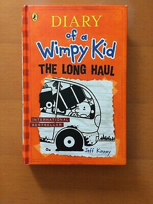 diary of a wimpy kid the long haul Book 9 Jeff Kinney Used