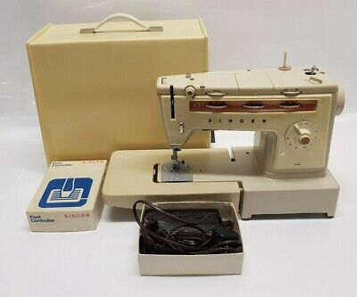 Singer 538 Vintage Electric Sewing Machine Pedal,  Power Cable & Box Tested