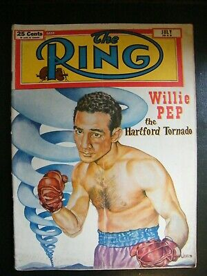 Rare Edition The Ring Boxing Magazine July 1949
