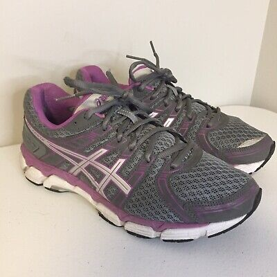 ASICS GEL FORTE Road Running Shoes Womens Sz 10 Silver Gray