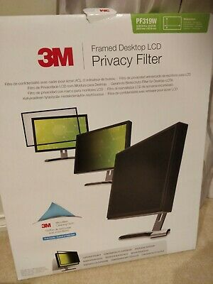 3M PF319W Widescreen Privacy Computer Filter - 269.0mm x 422.9mm