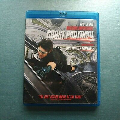 Mission Impossible Ghost Protocol Blu-Ray Movie! Mint Disc!