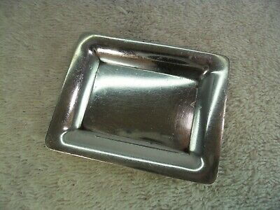 Novelty Miniature Solid Silver Serving Tray, S.Kirk & Son c1920