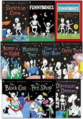 Funny Bones 10 Books Collection Set PB NEW