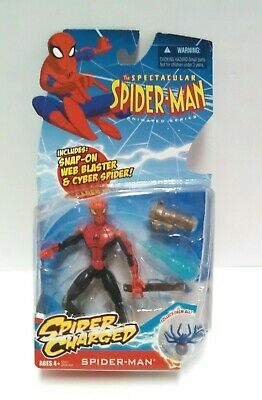 Spectacular Spider-Man Spider Charged Spider-Man Action Figure 2009 Marvel