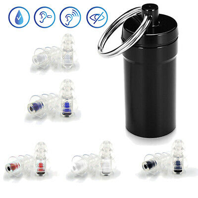 Noise Cancelling Ear Plugs Waterproof Hearing Protection for Sleeping Concerts