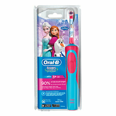 BRAUN Oral-B Zahnbürste Stages Power Frozen cls