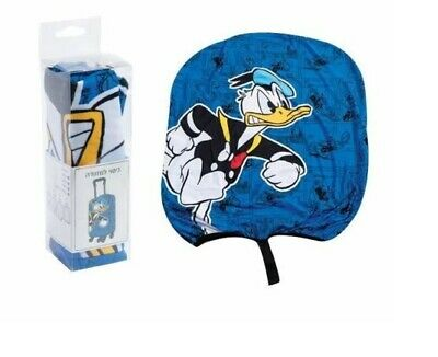Disney Donald Duck Elastic Luggage Cover Suitcase Trolley Protector Blue Satchel