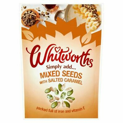 Whitworths Salted Caramel Seed Mix 150g