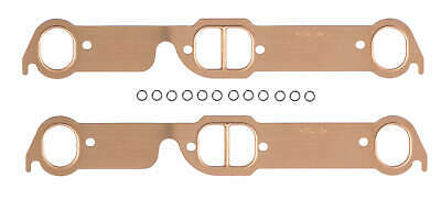 RPC Exhaust Header Gasket R7520; Copperseal 1.48 x 1.12 Copper for Ford 260-351W