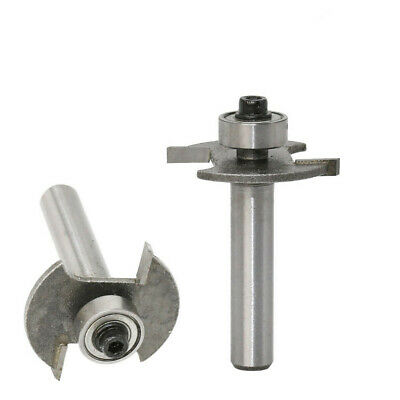 1Pc Biscuit Joint Slot Cutter Router Bit 8mm Shank Woodworking Tool