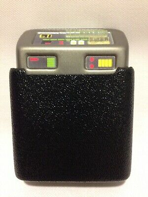 Star Trek MK IX & X Tricorder Holster With Clips Screen Accurate Prop Replica