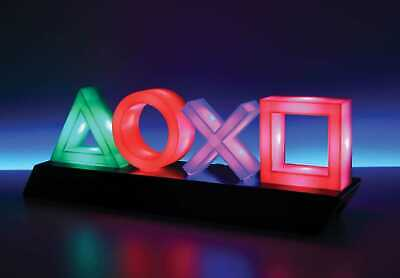 PLAYSTATION Light Icons 30 cm Paladone Products Sony Gadgets