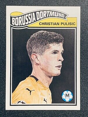 2019 Topps UCL Soccer Living Set Christian Pulisic #6