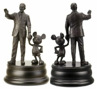 BRONZED PARTNERS WALT DISNEY MICKEY MOUSE WDW WORLD & Disneyland Statue figure