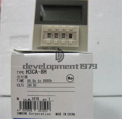 Omron Timer H3CA-8H DC24 In Box New