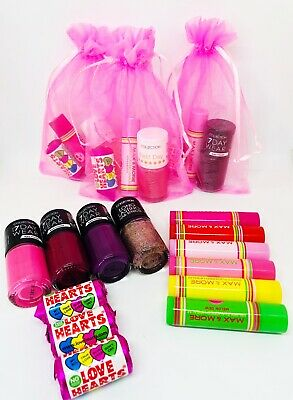 Older Girls Pink  Pre Filled Party Bags/  Sleepover,Pamper Ready Made Bags
