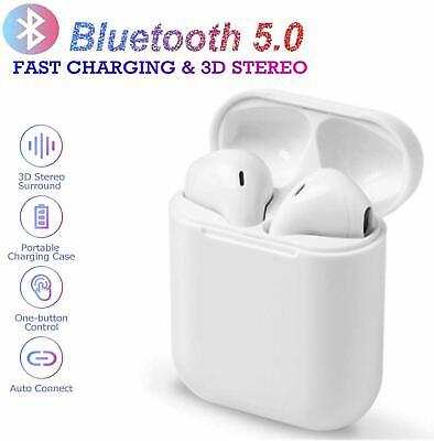 Bluetooth Earbuds White Wireless Earbuds in Ear Headphones Noise Cancelling