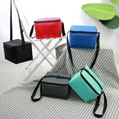 Insulated Lunch Bag Women Men Kids Cooler Adults Tote Food Lunch Box Portable AU