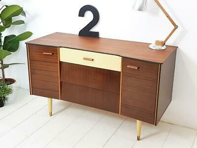 Mid Century Sideboard / Tv Stand Danish Influence Retro