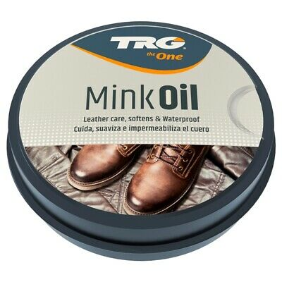 TRG Mink Oil Leather Conditioner Waterproofer Shoe Boot Sofa Handbag 100ml
