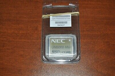 NEC UM8000 MAIL 550 HOURS COMPACT FLASH CARD SV9100/SV9300 (New) 640837